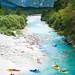 Kayak in Bovec