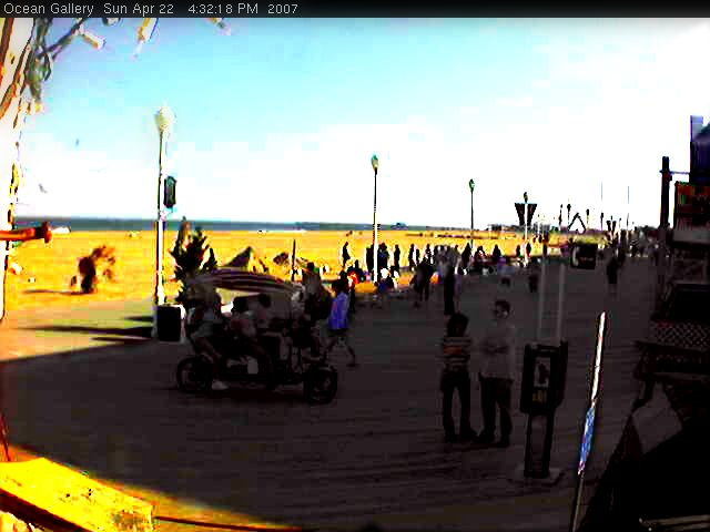 Boardwalk Webcam - Ocean City, MD