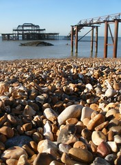 Gravel and Pier