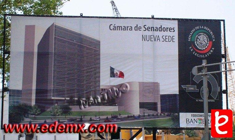 C mara de senadores nueva sede for La camara de senadores