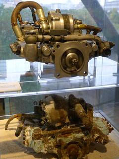 Einspritzpumpe für Motor Bramo 323