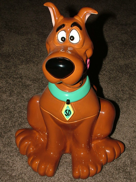 Scooby-Doo cookie jar, 1999