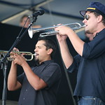 Sunday at the Newport Folk Festival, 2008 - What's Calexico without the horns?