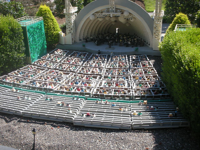 The Hollywood Bowl Made Out Of Legos Flickr Photo