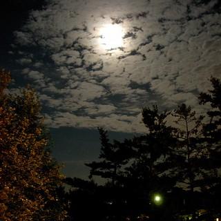 balcony moon