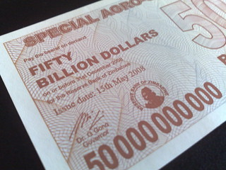Zimbabwe $50000000000 - issue date