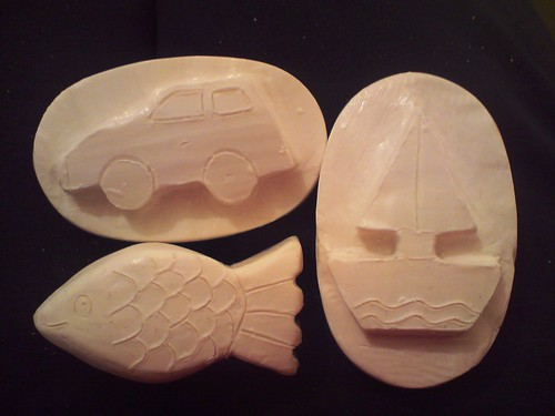 Fish soap carving