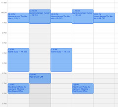 My Schedule von Mild Mannered Photographer bei Flickr