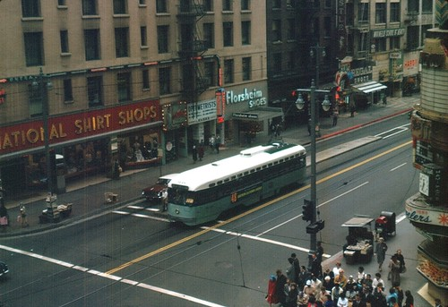 LAMTA Streetcar on Broadway