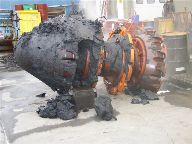 Pipeline cleaning quot pig after a mile trip down the pipe