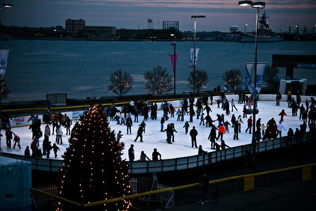 Penns Landing - Skating Rink