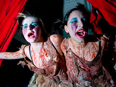 clothing, event, performing arts, zombie, entertainment, costume, performance art,