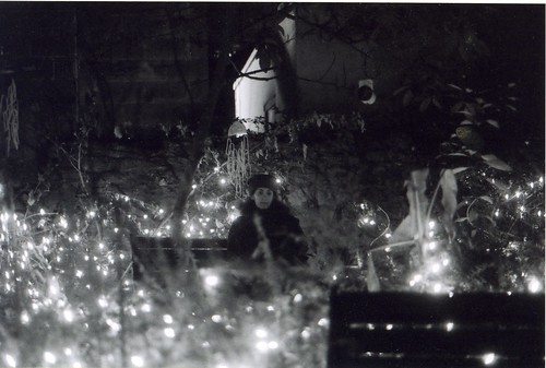 Carly in the Fairy Lights (c 2000)