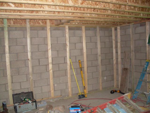 framing the basement walls flickr photo sharing