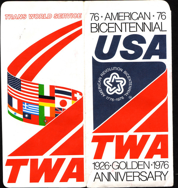 TWA ticket jacket outside