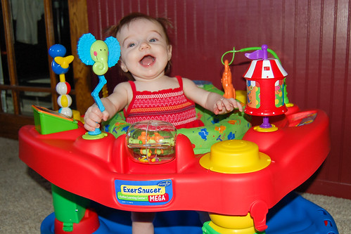 Exersaucer Fun