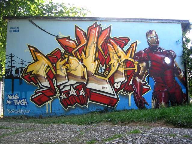 > Superhero Graffiti - Photo posted in Wild videos, news, and other media | Sign in and leave a comment below!