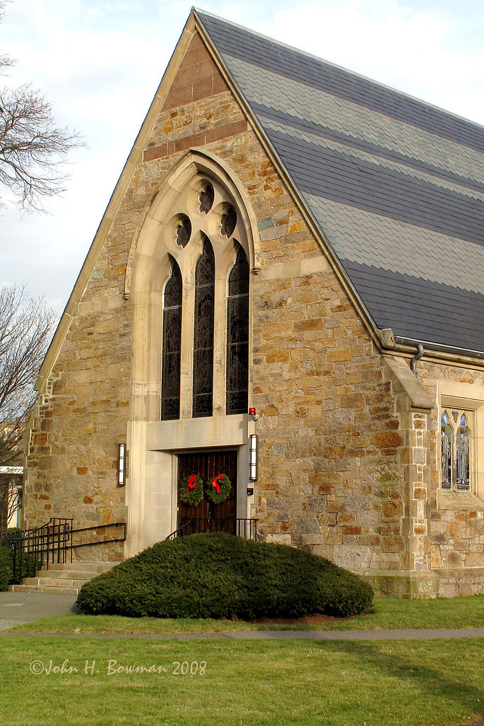 Stone Church Winter Afternoon Light