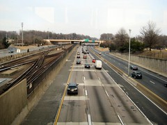 I-66 and Metro Station