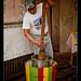 Roadside handmade icemaker, Mexico DF