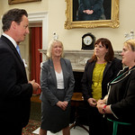 The PM meets Big Society Award winners