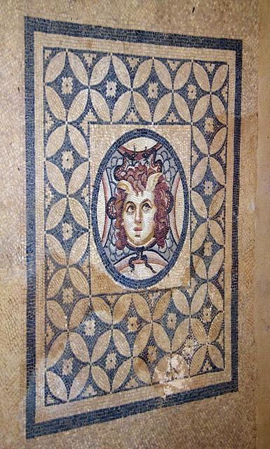 Medusa Mosaic, Terrace Houses, Ephesus, Turkey