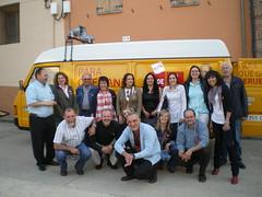 Furgoneta y candidatura elecciones 2011