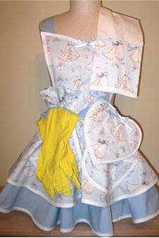 Wedding Apron Gift Set
