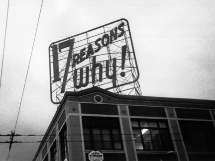 17 Reasons Mission SF