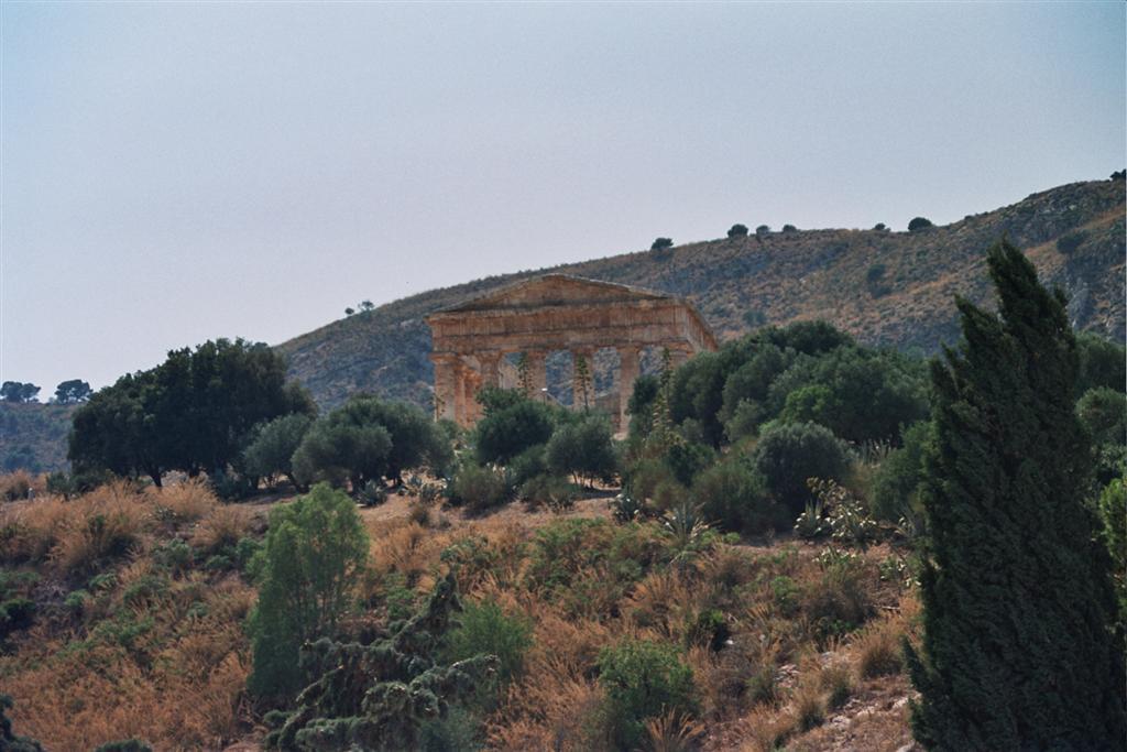 La subida hasta el templo principal, donde se asoma el monumento, deja asombrado a cualquiera. templo de segesta - 2512771283 99b6f9daa8 o - Templo de Segesta en Sicilia, el templo de los fugitivos de Troya