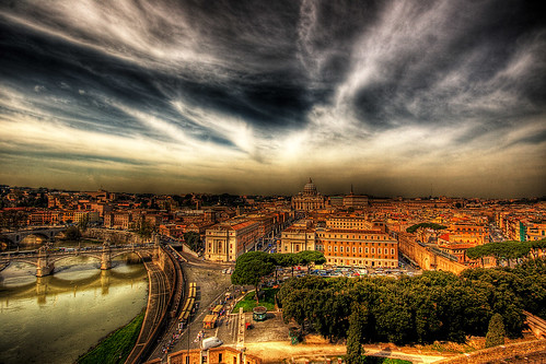 A view of the Vatican State