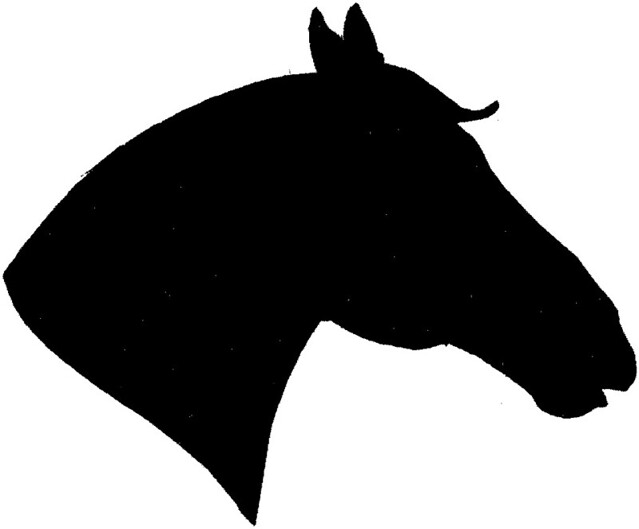 Quarter Horse Head Silhouette | www.pixshark.com - Images ...