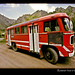 russian-red-bus-caucasus
