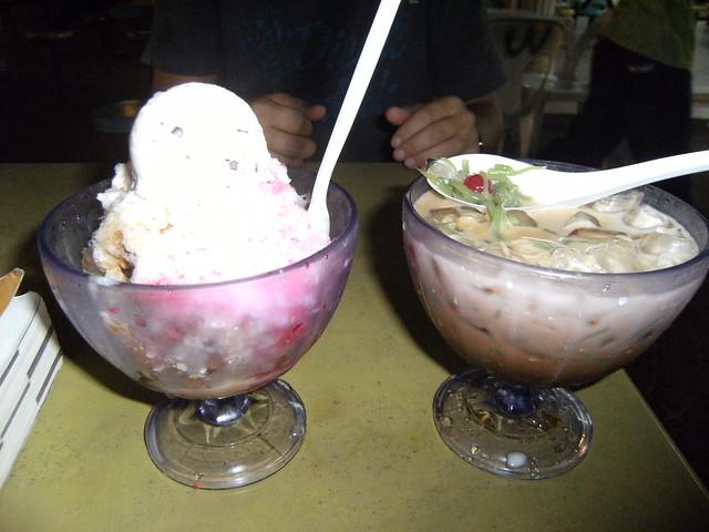 Malaysian desserts | The ice cream was nice but it got a bit ...