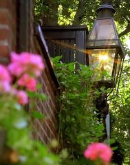 "Boston - Beacon Hill Gaslamp ""Acorn Street"""