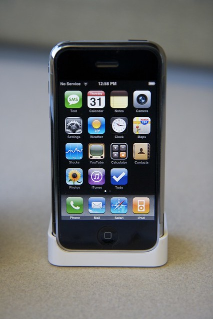 first gen iphone 1st 16gb iphone flickr photo 10600
