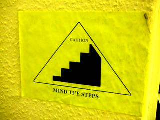 Graphic design: Mind the Steps