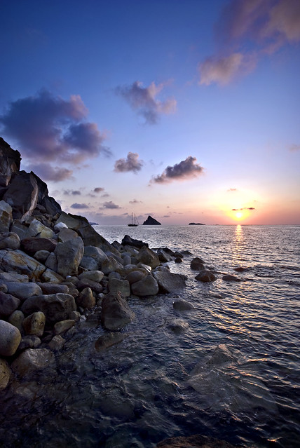 Sunrise in Panarea
