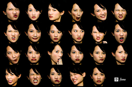 expressions collage 30 oct 08