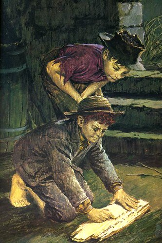 """the adventures of tom sawyer huckleberry The project gutenberg ebook of adventures of huckleberry finn huckleberry finn (tom sawyer's comrade) huckleberry """" and """"don't."""