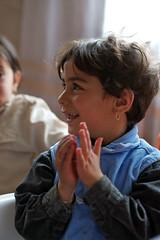 Child in Saadal Rural Childcare Centre