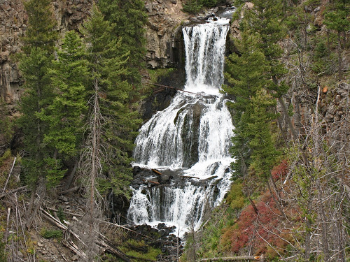 2818 Undine Falls, Yellowstone, Wyoming | by John Prichard