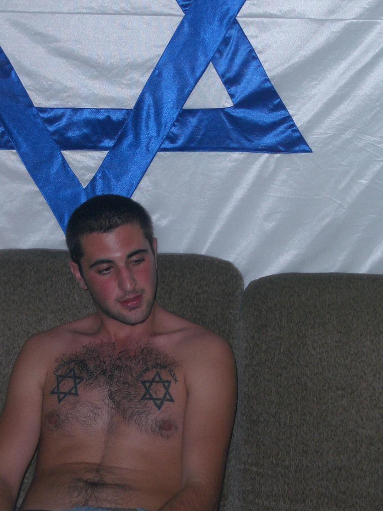 Small Star Of David Tattoo: Israeli Flag, Tattoo, Stars Of David