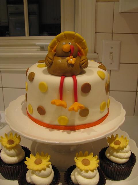 Turkey Fondant Cake Topper Explore The Couture Cakery s ...