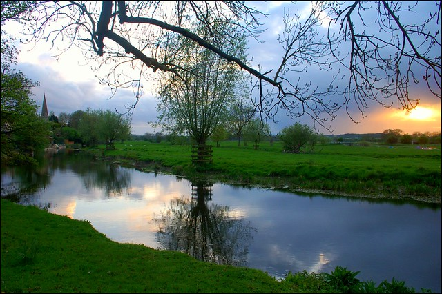 River Nene at Denford