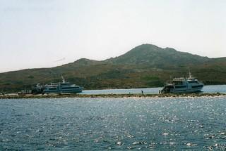 Arriving in Delos