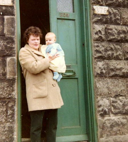 1968 me & gran by PhylB