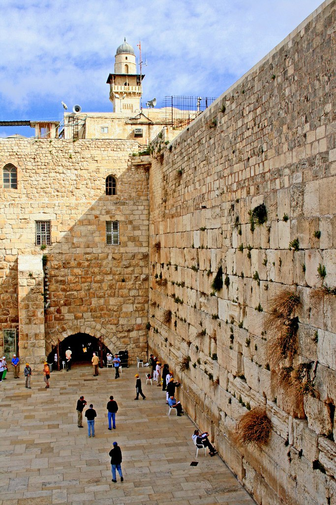 The Wailing Wall Aka Kotel In Old City Of Jerusalem