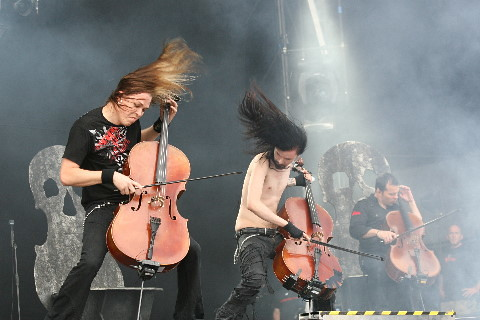 Apocalyptica @ Download Festival 2008 | This is Apocalyptica… | Flickr