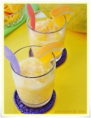 orange mango iced